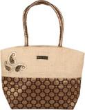 Kosha Women Brown Jute Hand-held Bag