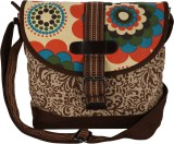 Anekaant Women Casual Brown, Beige Canva...