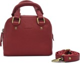 Cecille Women Casual Red Genuine Leather...