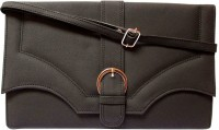 MTE Women Casual Black PU Sling Bag
