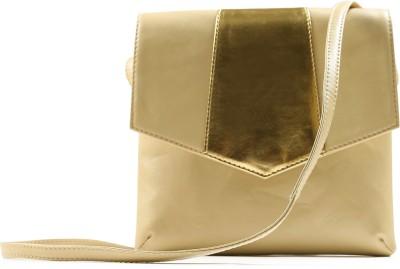 Miss Chase Women Casual Beige PU Sling Bag