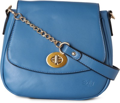 Allen Solly Women Blue PU Sling Bag