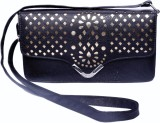 Admarich Women Black PU Sling Bag