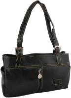 Sukkhi Women Black PU Shoulder Bag