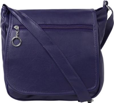 Coash Women Blue PU Sling Bag