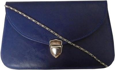 Samco Fas Girls, Women Blue Rexine Sling Bag