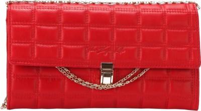 The Zoya Life Girls, Women Red PU Sling Bag