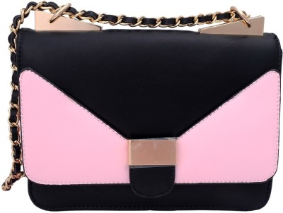Super Drool Women, Girls Pink PU Sling Bag