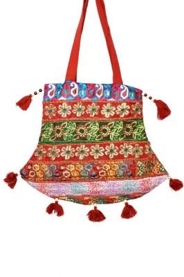 Fineline Retails Women Casual Multicolor Cotton Shoulder Bag