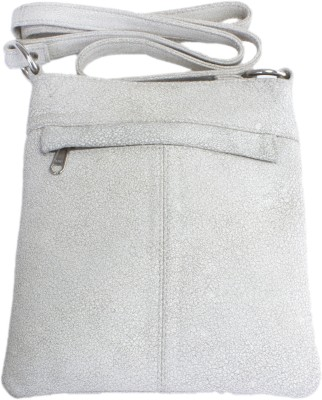 Ess Tee Women, Girls Evening/Party, Casual White Genuine Leather Tote