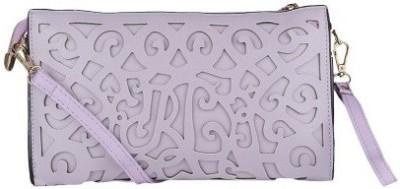 Liza Women, Girls Purple PU Sling Bag