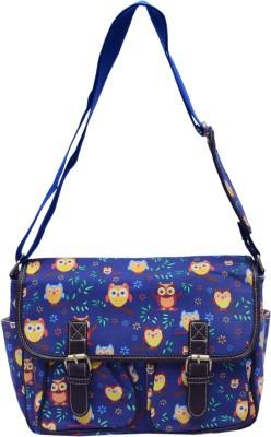 Ruff Boys & Girls Multicolor Canvas Sling Bag