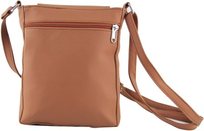 31st Street Girls, Women Tan Leatherette Sling Bag