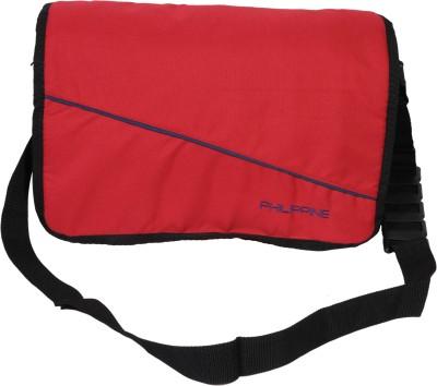 Philippine Men Red Polyester Shoulder Bag