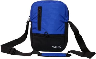 Yark Boys Blue Nylon Sling Bag