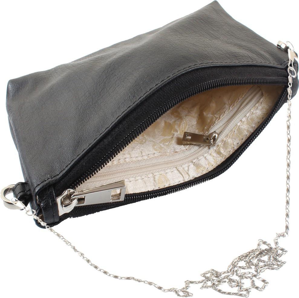 Sling bag below 500 - Dooda Women Black Leatherette Sling Bag