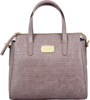 La Roma Women Purple Genuine Leather Sling Bag