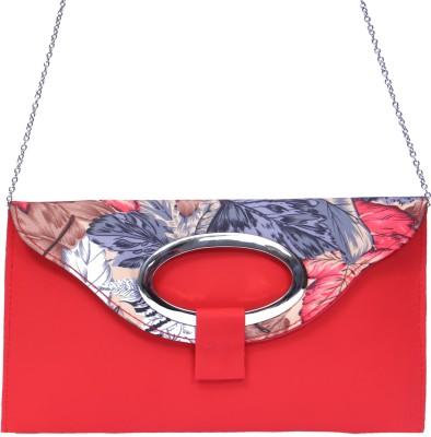zasmina Girls, Women Red PU Sling Bag