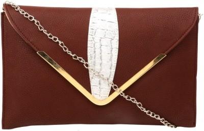 Hangover Girls, Women Brown Rexine Sling Bag