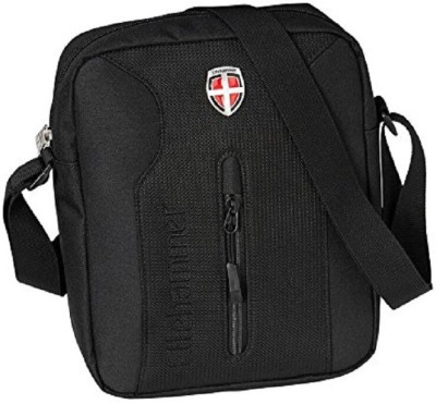 Ellehammer Men Black Polyester Sling Bag