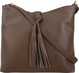 Toteteca Bag Works Women Brown PU Sling ...