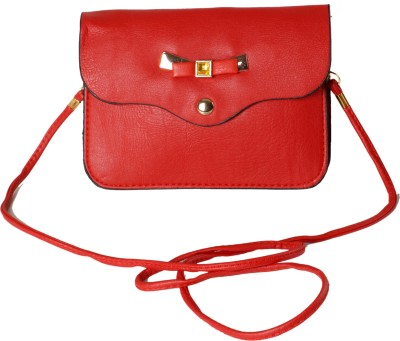Classique Women Casual, Formal Red PU Sling Bag