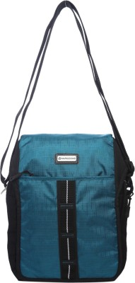 Harissons Men, Women Casual Green Nylon Sling Bag