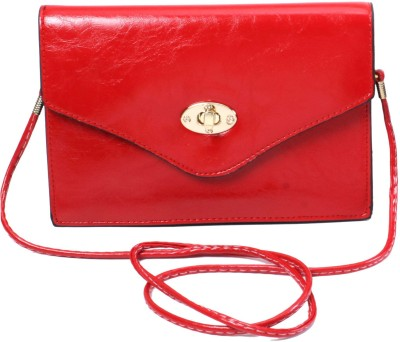 Classique Women Casual, Formal, Evening/Party Red PU Sling Bag