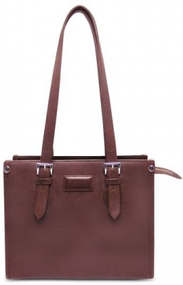 Cascara Women Brown Genuine Leather Sling Bag