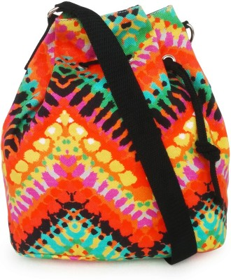 Lemon Trunk Women, Girls Casual Multicolor Canvas Sling Bag