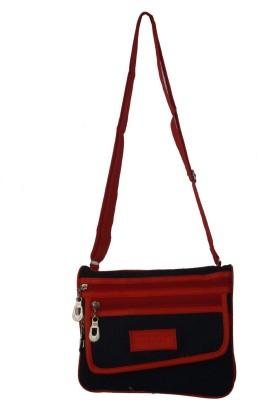 Diamonds World Women Multicolor PU Sling Bag