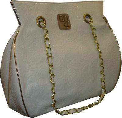 PNA Women Casual Grey PU Sling Bag