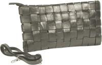 Just Women Women Casual Silver PU Sling Bag