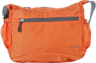 Bendly Women, Men Casual Orange Polyester Sling Bag