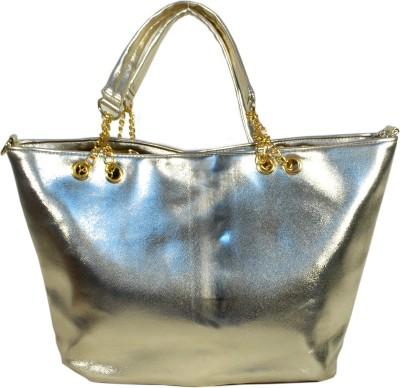 Prezia Women Casual Gold PU Sling Bag