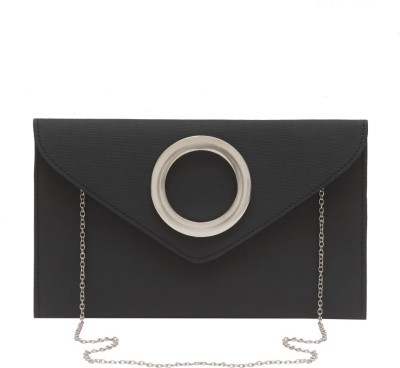 Stylesaga Girls Black Rexine Sling Bag