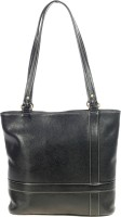 Khadim's Women Black Leatherette Shoulder Bag