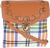 Kleio Women Multicolor Leatherette Sling...