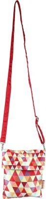 Nostaljia Girls Red Polyester Sling Bag