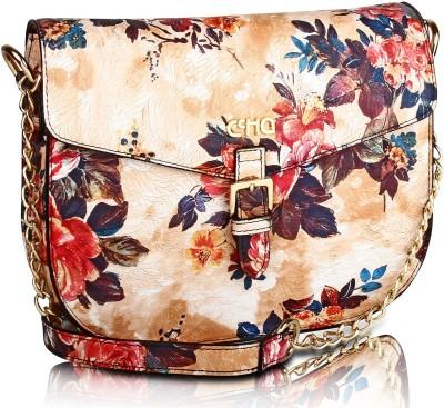 Ccha Women Multicolor PU Sling Bag