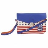 Obvio Women Blue PU Sling Bag