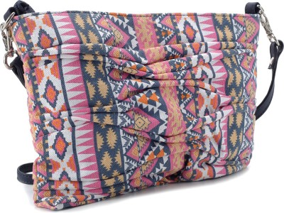 Fastrack Women Casual Multicolor PU Sling Bag