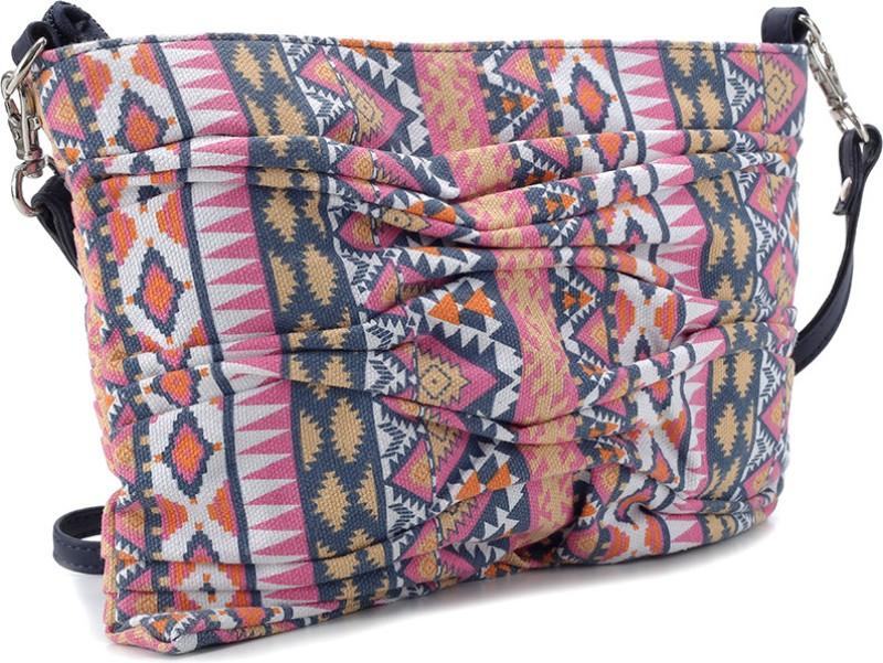 2a31ece67d Fastrack Women Casual Multicolor PU Sling Bag