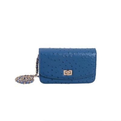 Peaubella Women, Girls Blue PU Sling Bag