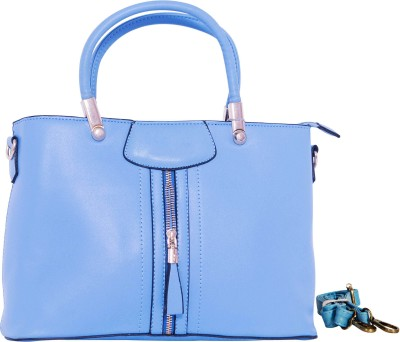 Parv Collections Women Blue PU Tote