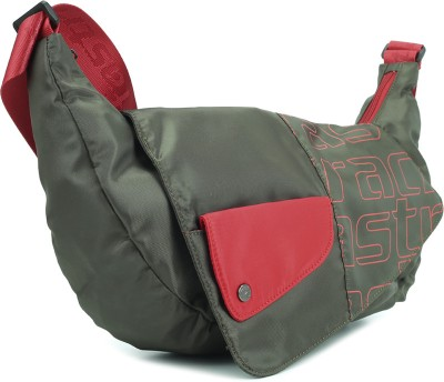 Fastrack Women Casual Green, Red Polyester Sling Bag