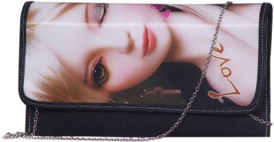 Notbad Girls Casual Black PU Sling Bag