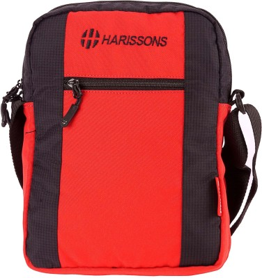 Harissons Men, Women Black Polyester Sling Bag