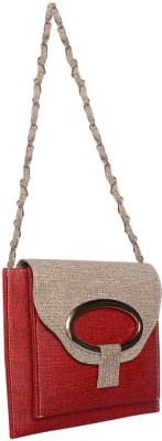 Bueva Girls, Women Red, Grey PU Sling Bag