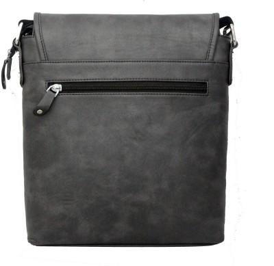 Nappastore Men, Women, Boys, Girls Casual, Formal Black Leatherette Sling Bag